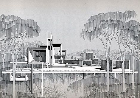 Paul Rudolph Sketches + Efdemin Mix » ISO50 Blog – The Blog of Scott Hansen (Tycho / ISO50)