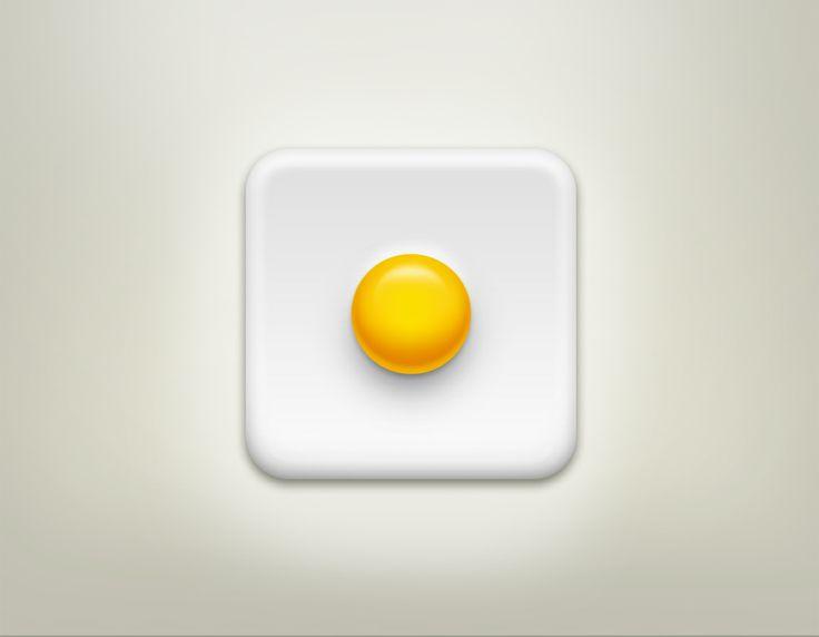 Icon & egg by www.gloo-studio.com