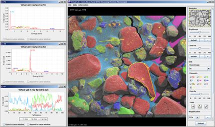 Virtual Microscope  - The Virtual Microscope is a NASA-funded project that provides simulated scientific instrumentation for students and researchers worldwide as part of NASA's Virtual Laboratory initiative.