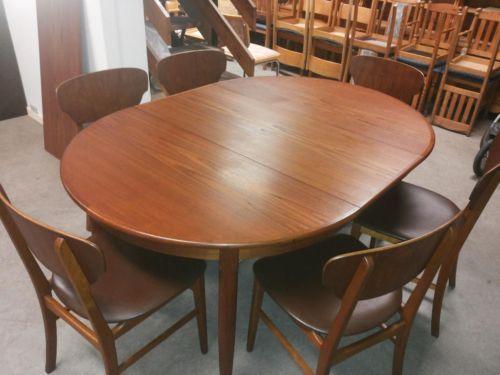 Perfect sch ne Teakholz Tisch mit Bl tter von cm als neue und St hle Teakholz