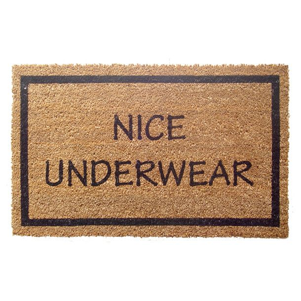 This doormat has an eye for quality