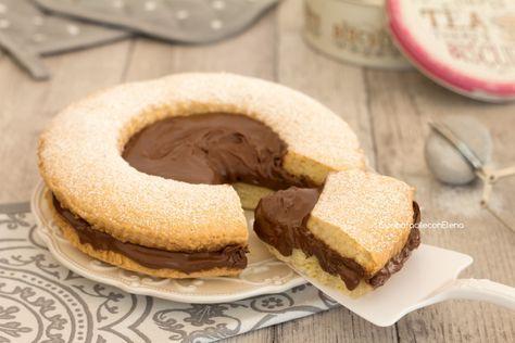 torta occhio di bue alla Nutella