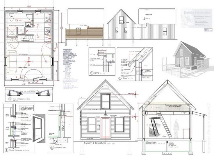25 best ideas about tiny house plans free on pinterest - Modern Tiny House Plans
