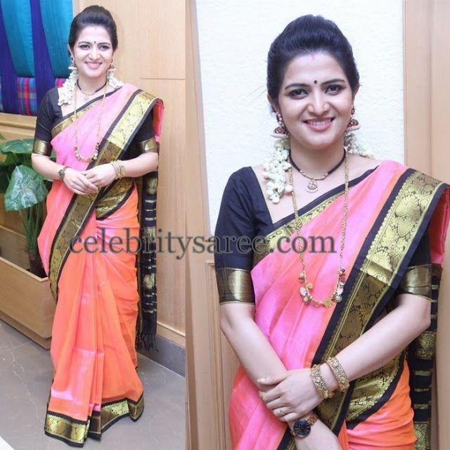 Divya Darshini Dual Shade Silk Sari