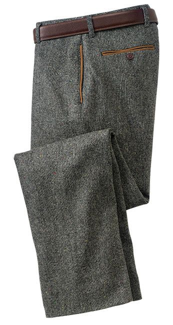 Grey Tweed is classic and timeless. Dad and boys.