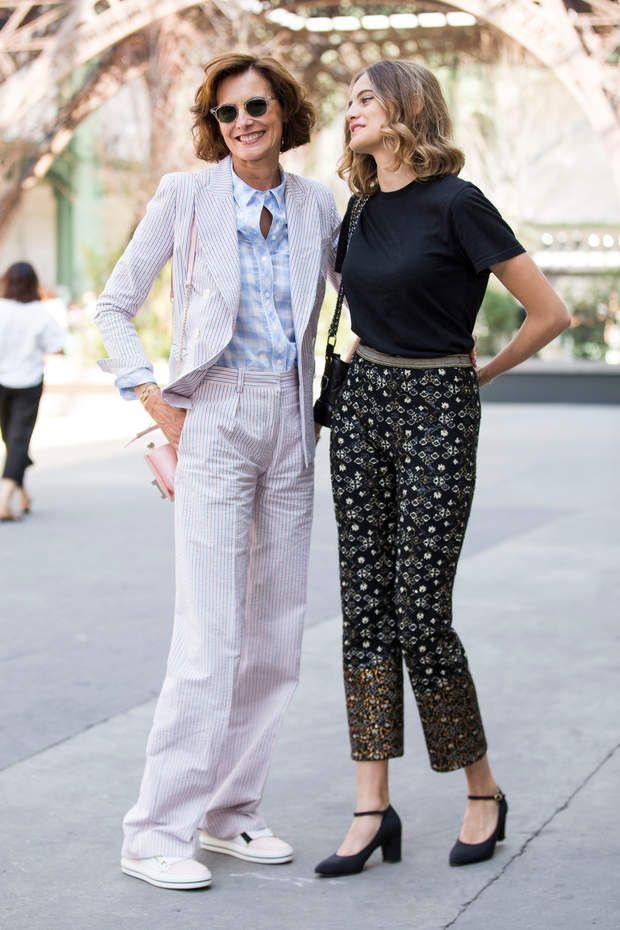 Extrêmement 215 best style: INES DE LA FRESSANGE images on Pinterest | Style  OR88