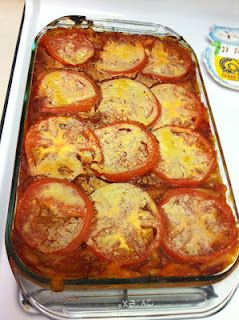 My version of the Engine 2 Sweet Potato & Veggie Lasagna (link to Rip's recipe included)