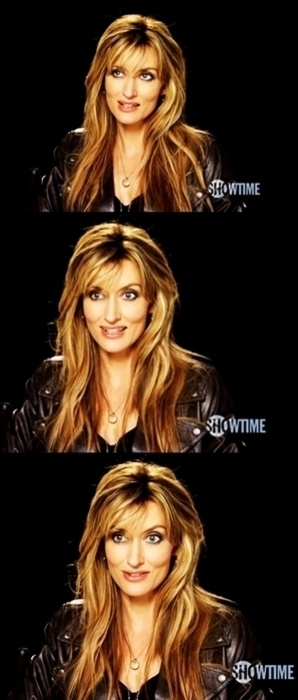 Natasha McElhone's from Californication has amazing hair. She is my hair hero!