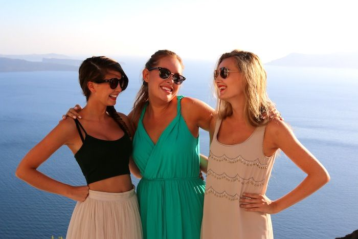the absolutely beautiful Zoe, Tan & Naomi
