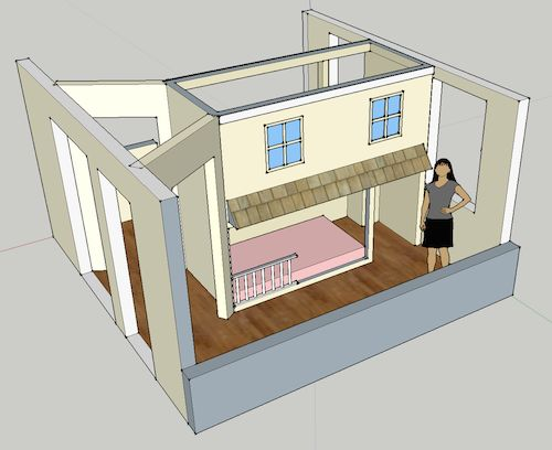 how to separate a bunk bed 2