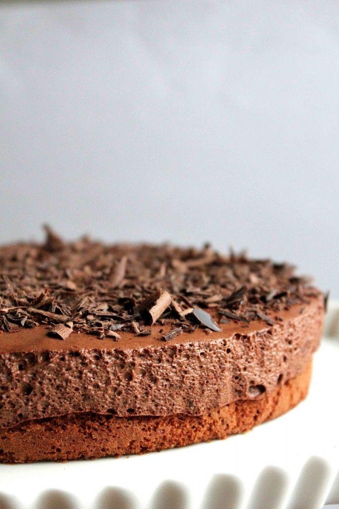 Mousse de Chocolate Cake