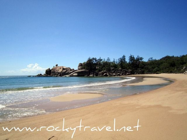 One of my favorite beaches in Queensland. Balding Bay Beach on Magnetic Island