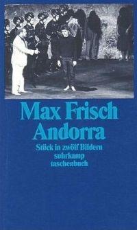 Andorra - Max Frisch - 1961 : Bibliotheca - Dans l'Univers des Livres