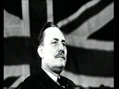 """Exceprts of Enoch Powell's """"Rivers of Blood"""" speech in this documentary. Race Relations Act."""