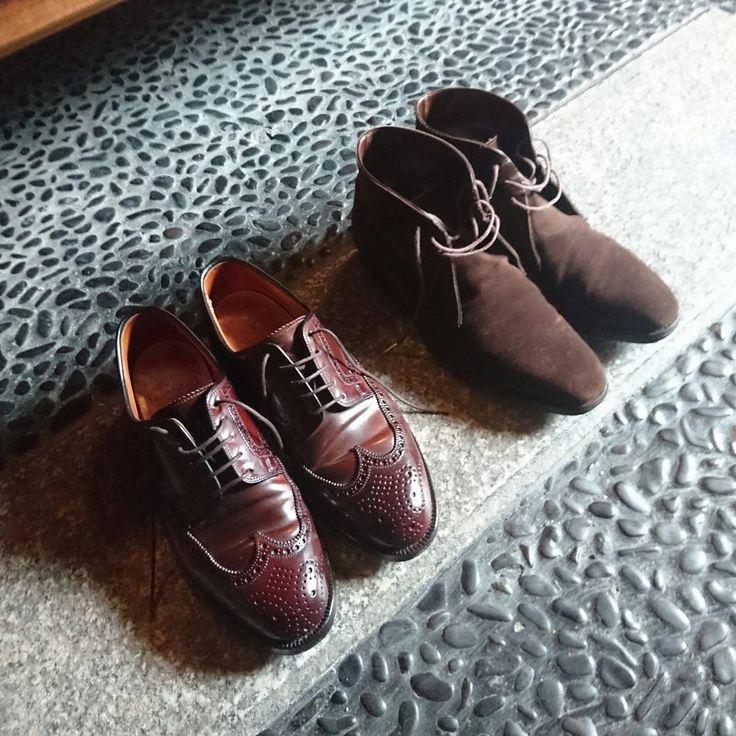大晦日の一日 家内は昨日今日とおせち料理を作りに出掛けているので私は家でゆっくりさせて貰っています 今日は昼過ぎに帰ってくる予定なので午後は京都の街をブラブラしようと思います _ Shoes:#crockettandjones #cordvan Shoes:#tradingpost #chukka _ #mensstyle #mensfashion #menswear #fashion #gentleman #gentlemanstyle #ootd #menfashion #dailywear #dapper #dapperman #mensshoes #instashoes #shoestagram #shoeshine #shoegazing #shoegame #shoesoftheday #dailyshoes #足元くら部 #足元倶楽部 #今日の足元