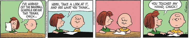 Peanuts by Charles Schulz for Mar 7 2018