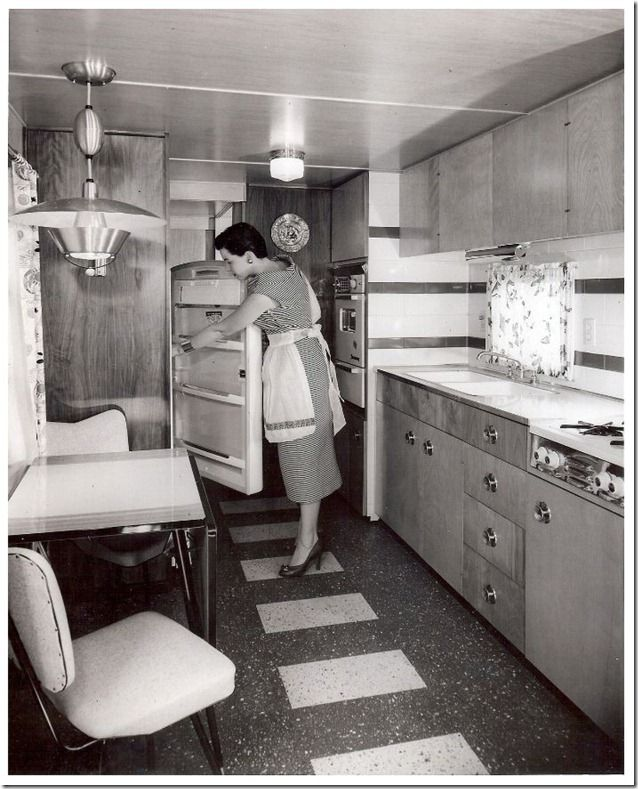 Mobile Home Manufacturers Association Pictures From the 1955 18th Annual MHMA Show In Cleveland