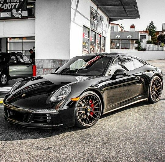 Luxury Cars Porsche Cars Black Porsche: Damn Sexy 991 Carrera GTS