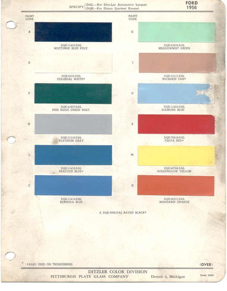Oem Paint Colors