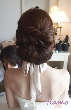 大人可愛い3スタイルチェンジ♡素敵なご結婚式 | 大人可愛いブライダルヘアメイク 『tiamo』 の結婚カタログ