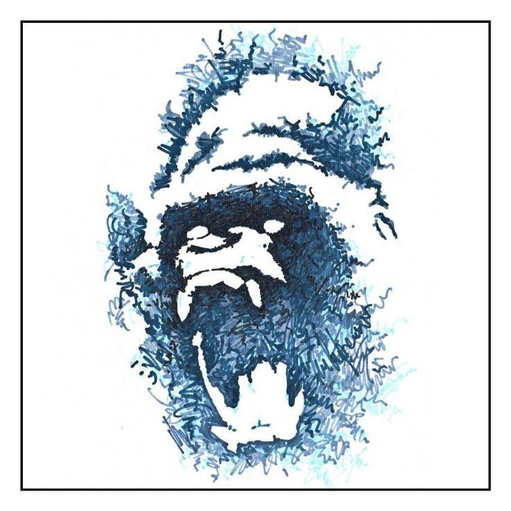 Le singe bleu - Louis Vairel