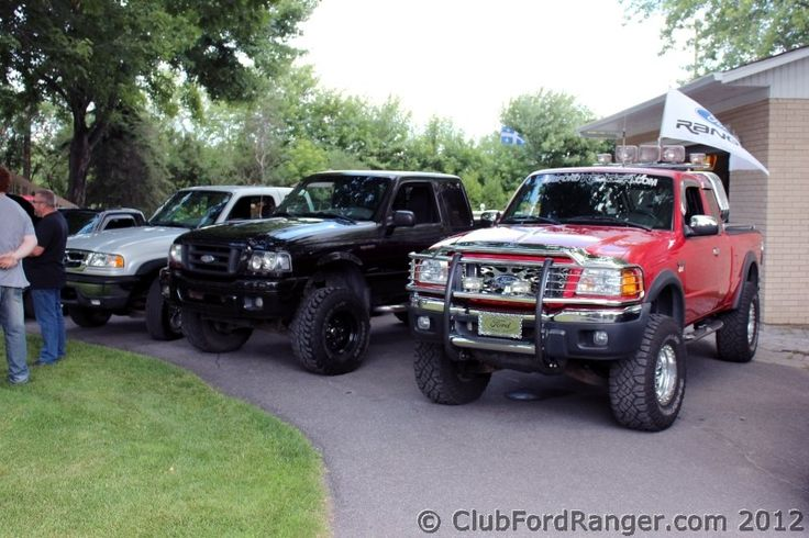 Lifted Ford Ranger | Meet annuel des membres du Club Ford Ranger chez charloumazda