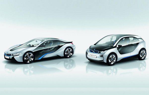 Los nuevos i3 Concept e i8 Concept, son los nuevos dispositivos híbridos de la marca alemana BMW.