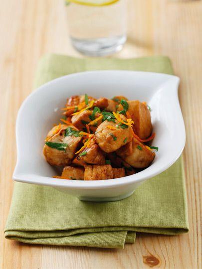 Portakallı tavuk Tarifi - Diyet Yemekleri Yemekleri - Yemek Tarifleri