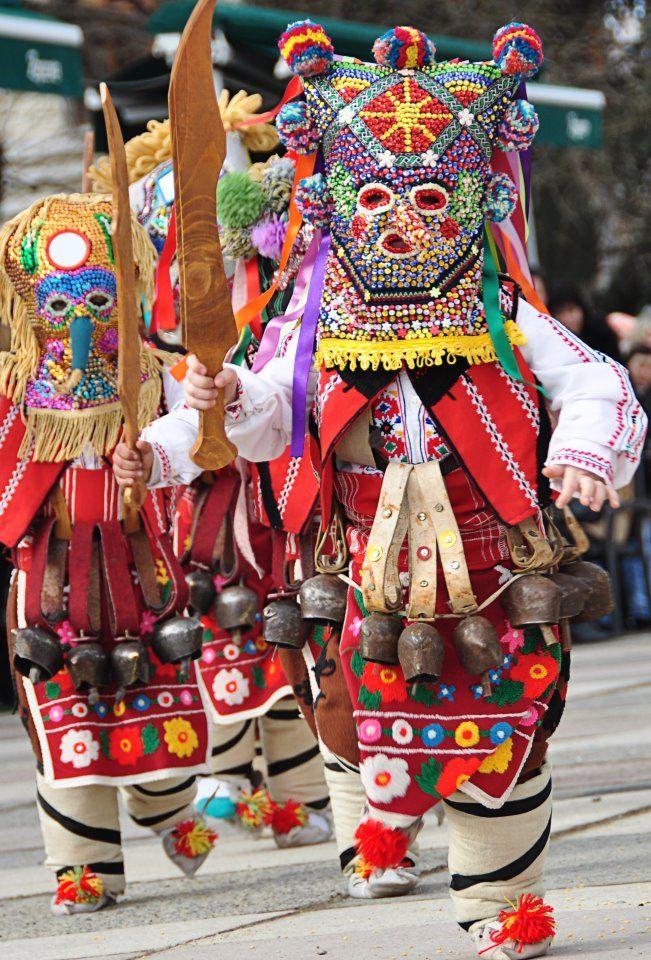Kukeri festival Bulgaria