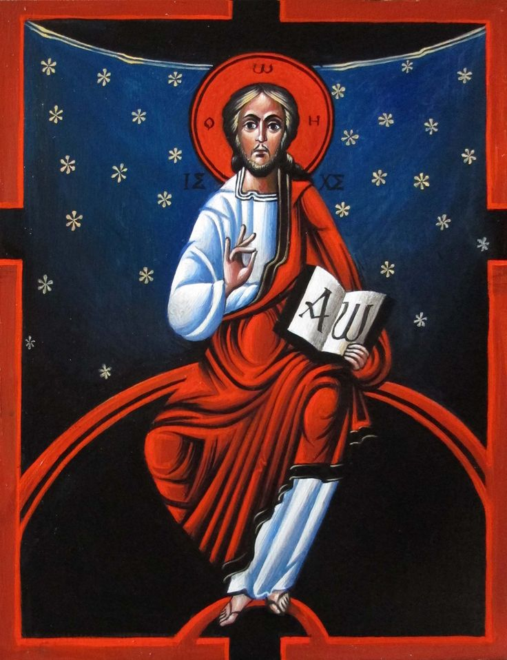 Christ Pantocrator - Myhailo Skop 2016
