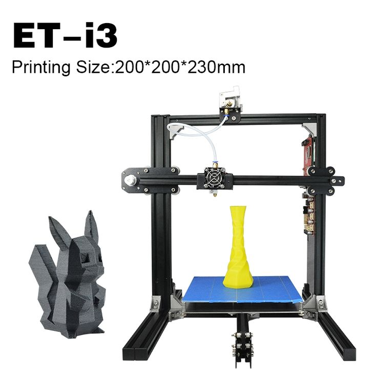 220.80$  Buy now - http://alirj1.worldwells.pw/go.php?t=32768945379 - Top 3D Printers ET-I3 Great Quality Cost Effective Auto Leveling Fused Deposition Modeling Double Extruders Self-Leveling Print 220.80$
