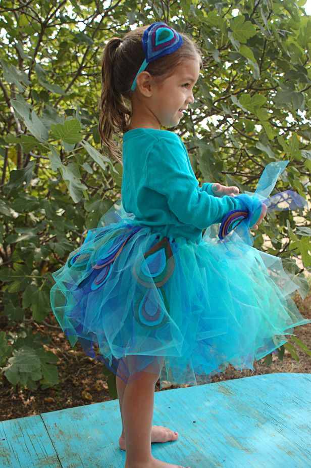Photo by Ruth Meharg - Create a Peacock Costume