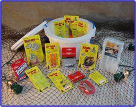 Bass Bucket – O – Tackle / Fishing Gift Basket