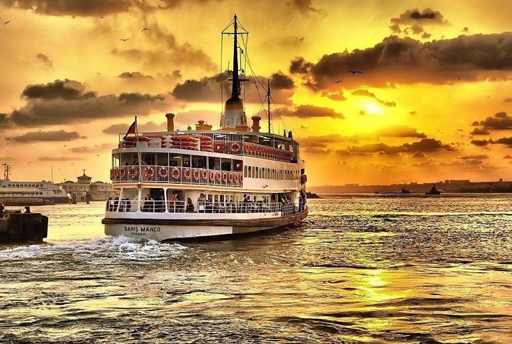 Boat in Bosphorus #travel