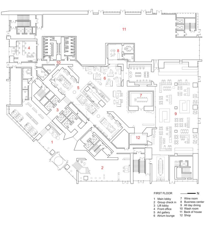 Gallery of Le Meridien Zhengzhou / Neri&Hu Design and Research Office - 9
