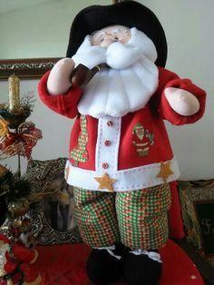 moldes de muñecos navideños papa noel - Buscar con Google