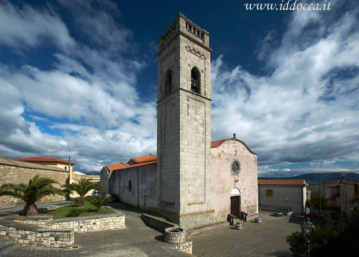 The Church of Santa Barbara, patron saint of Genoni ( it is celebrated on 4th of December).