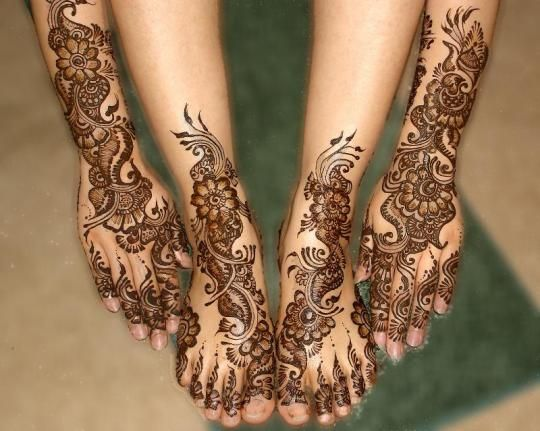 HENNA DESIGNS: Mehndi Designs For Feet