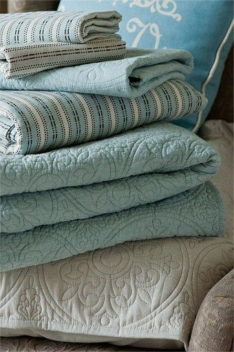 Ocean color quilts