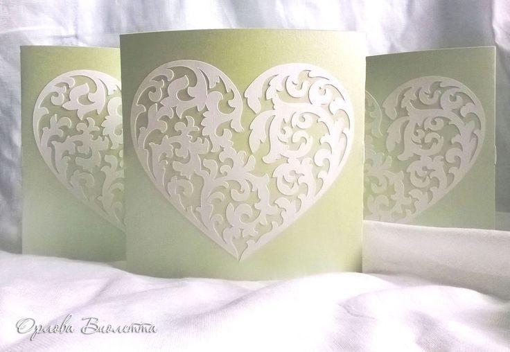 Купить Лазерная резка бумаги - салатовый, приглашения на свадьбу, приглашение, приглашения, пригласительные, пригласительное