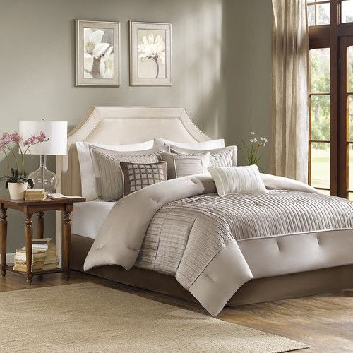 Madison Park Trinity 6 Piece Duvet Set Guest Room