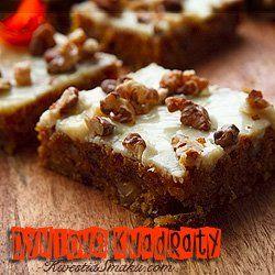 Ciasto dyniowe z orzechami | Kwestia Smaku