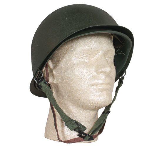 Deluxe M1 Style Steel Combat Helmet/Liner -30-132