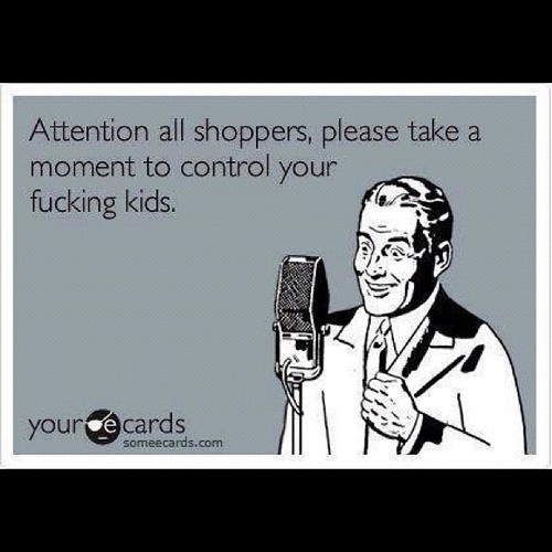 Wish the stores would really announce this!