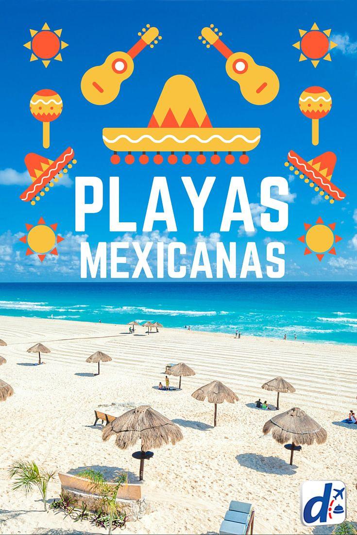 ¡Prepara una margarita porque esta nota te llevará de viaje a las mejores #PlayasDeMéxico! #viajar #trip #travel #playas #Mexico #Cancun