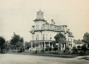 The Webber Mansion in Saginaw Michigan