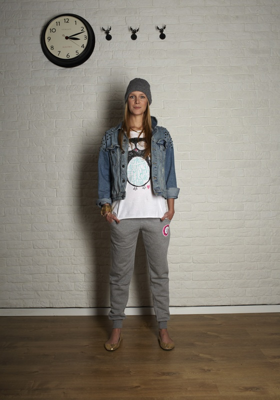 Femi Pleasure Carta pants & Bibi t-shirt
