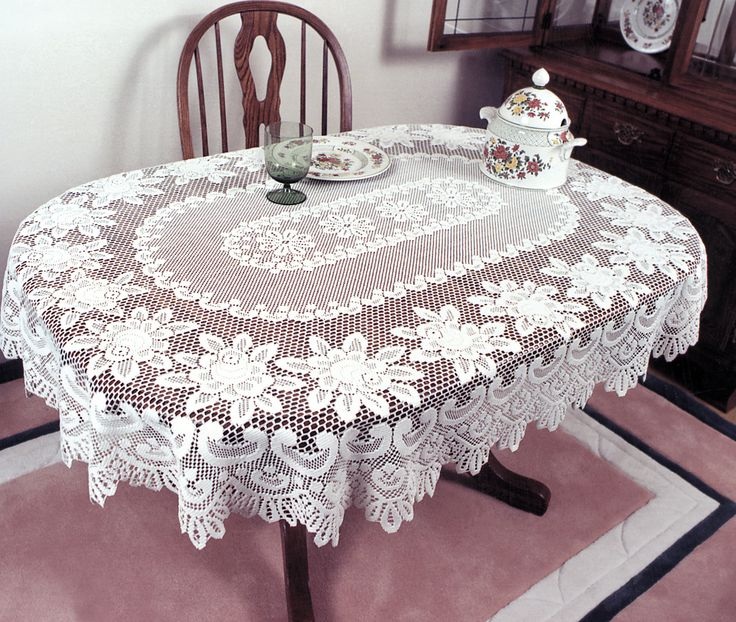 Lace Tablecloths Oval 300x300.jpg Crochet Tablecloth Oblong