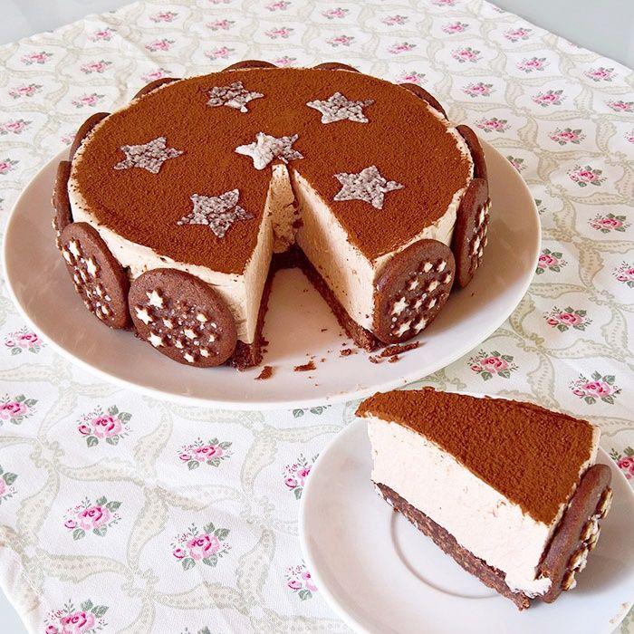 Pan di stelle cheesecake