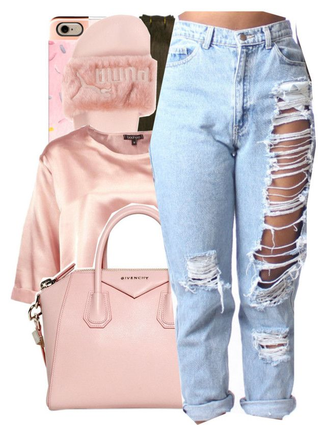 """Drebo x Squeezed up"" by shilohluvsu ❤ liked on Polyvore featuring Casetify, Puma, Boohoo and Givenchy"